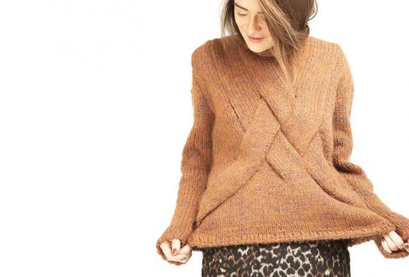 25женских свитеров - Фото №11