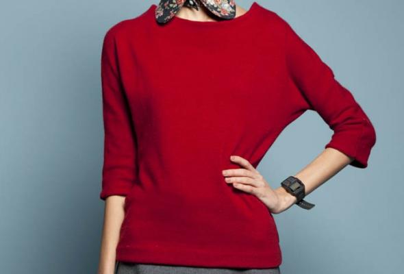 25женских свитеров - Фото №17