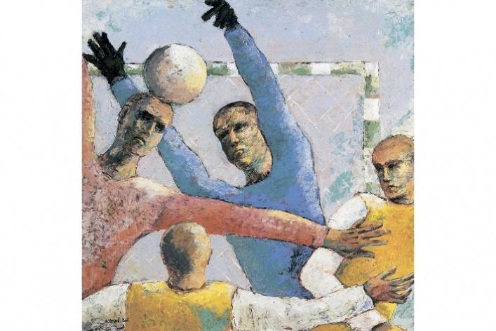 Выставка российских художников конца ХХ — начала ХХI века