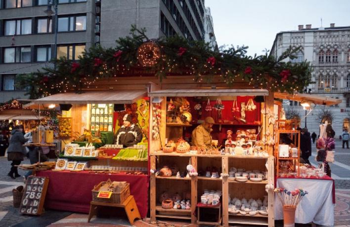Самые вкусные места предновогодней Москвы