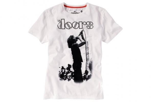 Tom Tailor выпустил футболки сизображением Джими Хендрикса иThe Doors - Фото №2