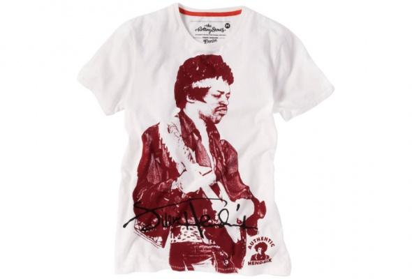 Tom Tailor выпустил футболки сизображением Джими Хендрикса иThe Doors - Фото №0