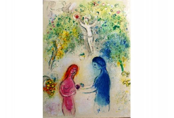 Марк Шагал - мастер livre d'artiste. Избранные листы - Фото №2