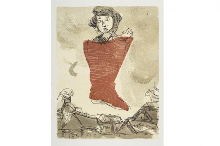 Марк Шагал - мастер livre d'artiste. Избранные листы