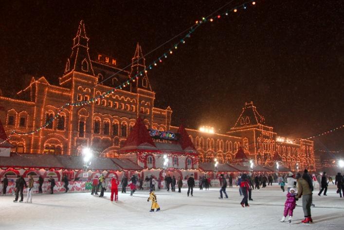ГУМ-Каток на Красной площади