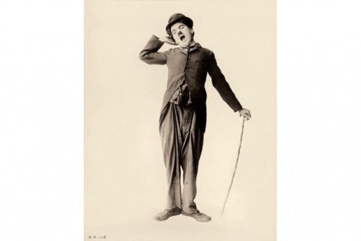 Чаплин в картинках