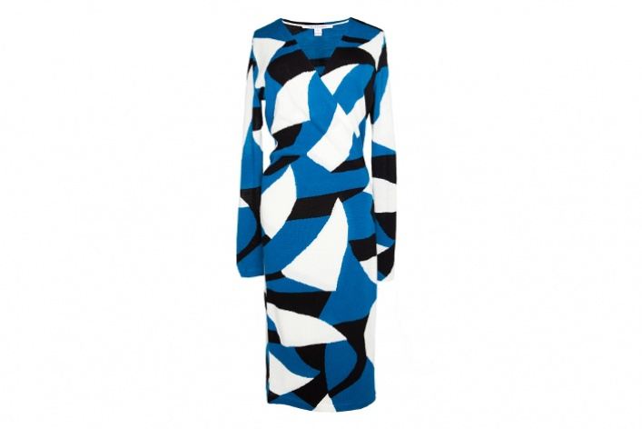 30теплых трикотажных платьев