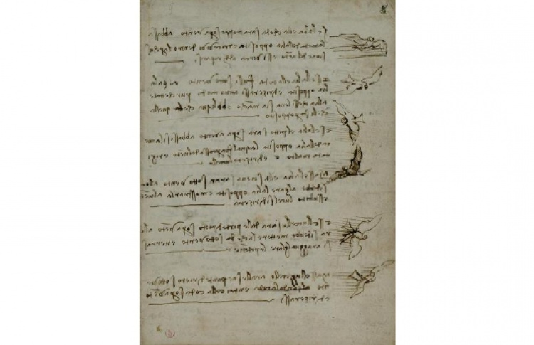 Леонардо да Винчи «Кодекс о полете птиц»