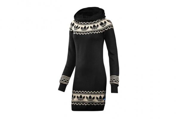 30теплых трикотажных платьев - Фото №11