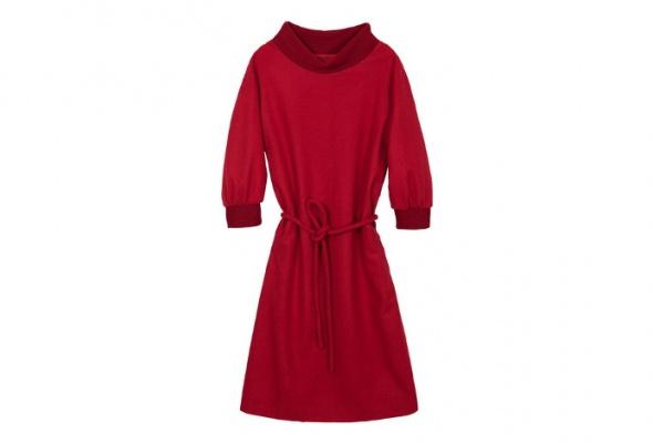 30теплых трикотажных платьев - Фото №8