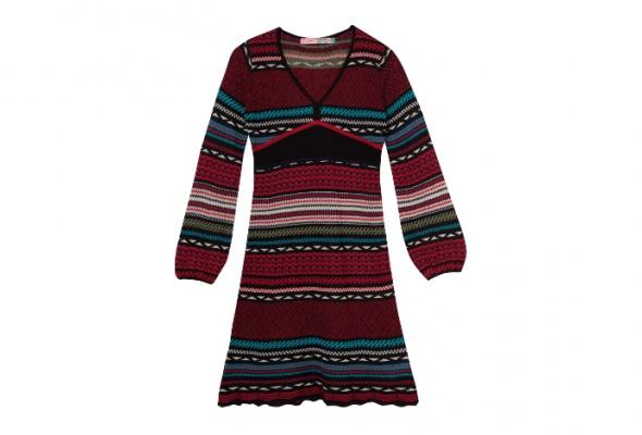 30теплых трикотажных платьев - Фото №10