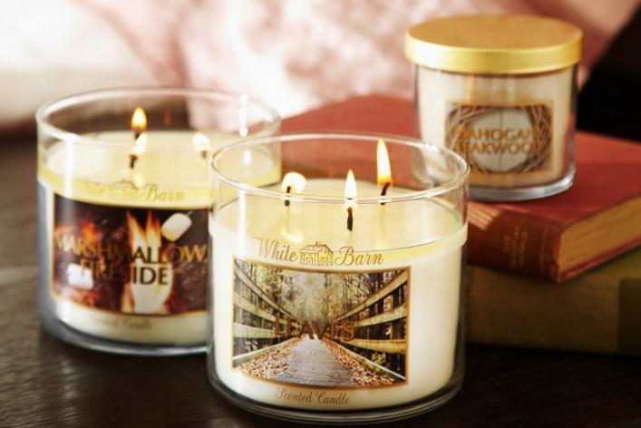 ВBath & Body Works появились новые парфюмированные свечи