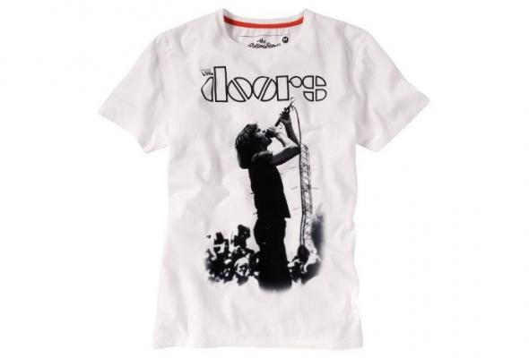 Tom Tailor выпустил футболки сизображением Джими Хендрикса иThe Doors - Фото №16