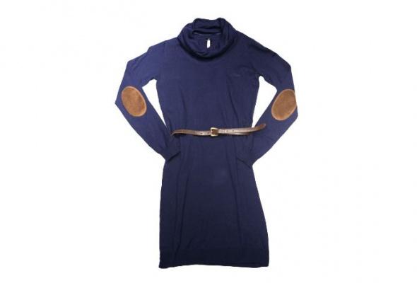 30теплых трикотажных платьев - Фото №1