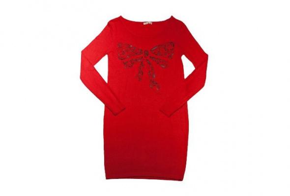 30теплых трикотажных платьев - Фото №2