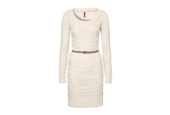 30теплых трикотажных платьев - Фото №4