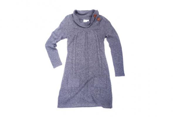 30теплых трикотажных платьев - Фото №7