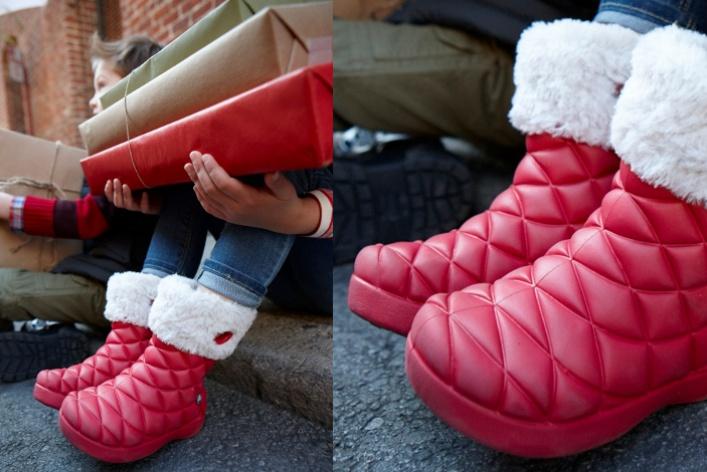 УCrocs вышла новогодняя коллекция обуви
