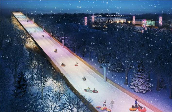 Парк «Сокольники» объявил дату открытия самой большой горки города