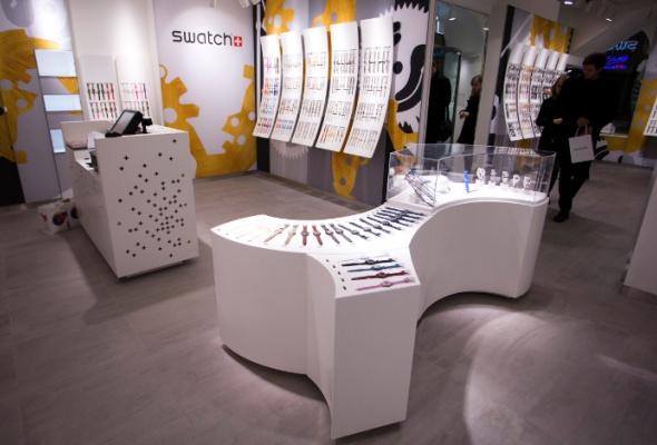 Флагманский магазин Swatch открылся вновой концепции - Фото №1