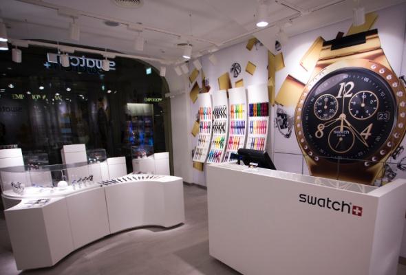Флагманский магазин Swatch открылся вновой концепции - Фото №0