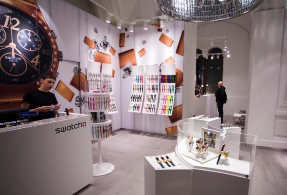 Флагманский магазин Swatch открылся вновой концепции - Фото №2