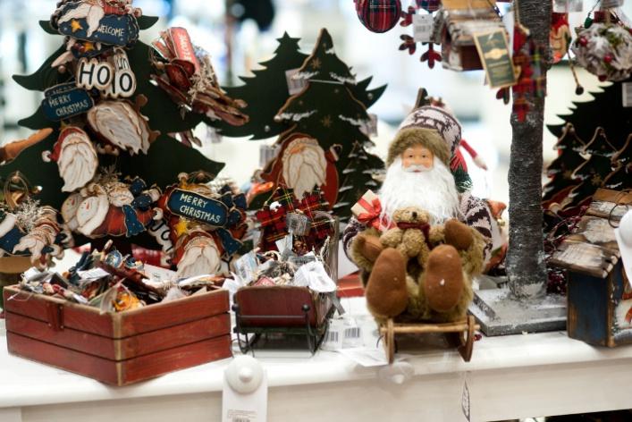 Новогодний базар в ЦУМе