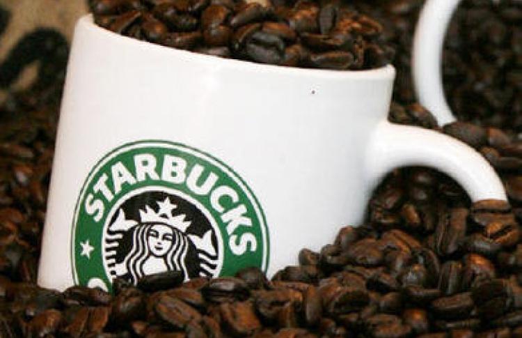 Starbucks вПетербурге