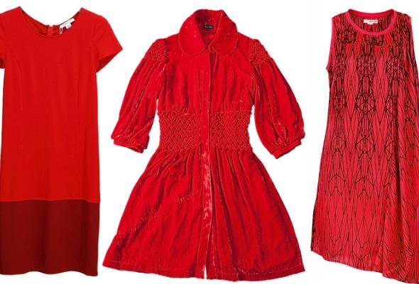 Где найти: Красное платье - Фото №1