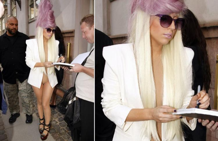 Леди Гага: 50образов, которые потрясли мир Фото №359105