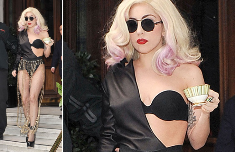 Леди Гага: 50образов, которые потрясли мир Фото №359121