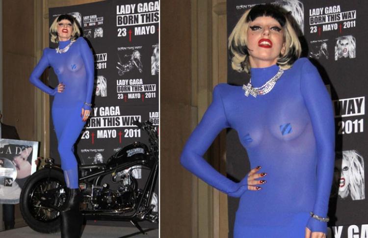 Леди Гага: 50образов, которые потрясли мир Фото №359135