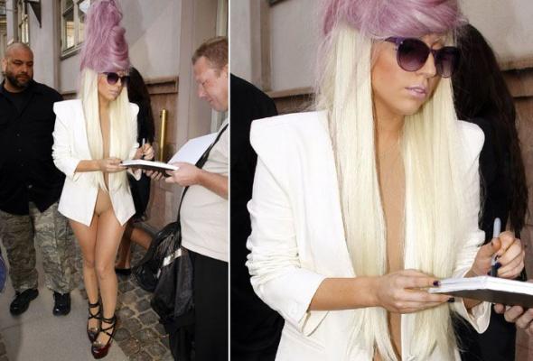 Леди Гага: 40луков, которые потрясли мир - Фото №2