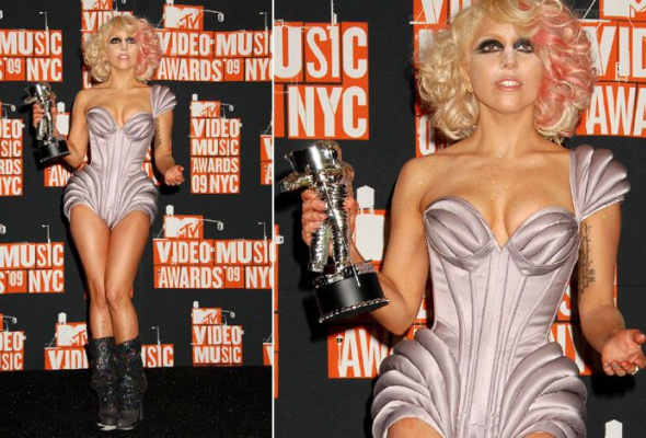 Леди Гага: 40луков, которые потрясли мир - Фото №3