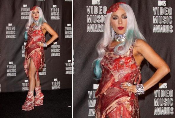 Леди Гага: 40луков, которые потрясли мир - Фото №18