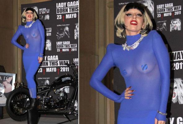 Леди Гага: 40луков, которые потрясли мир - Фото №21