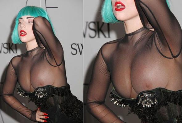 Леди Гага: 40луков, которые потрясли мир - Фото №24