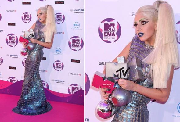 Леди Гага: 40луков, которые потрясли мир - Фото №29