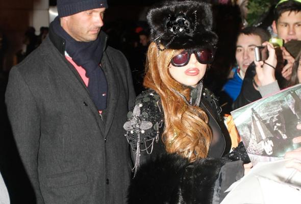 Леди Гага прилетела вМоскву - Фото №0