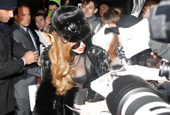 Леди Гага прилетела вМоскву - Фото №1