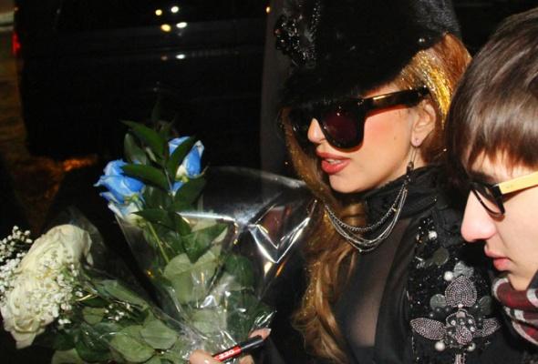 Леди Гага прилетела вМоскву - Фото №3