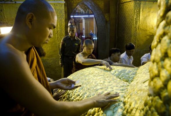 Мьянма: все золото Бирмы - Фото №3