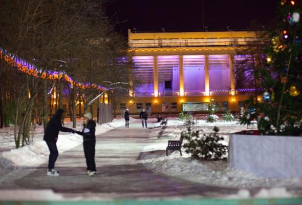 Зимний парк в «Лужниках» - Фото №1
