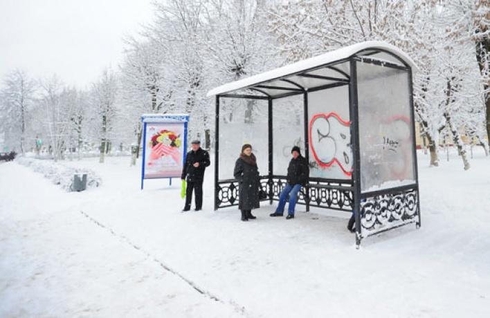 Московские остановки будут подогреваться