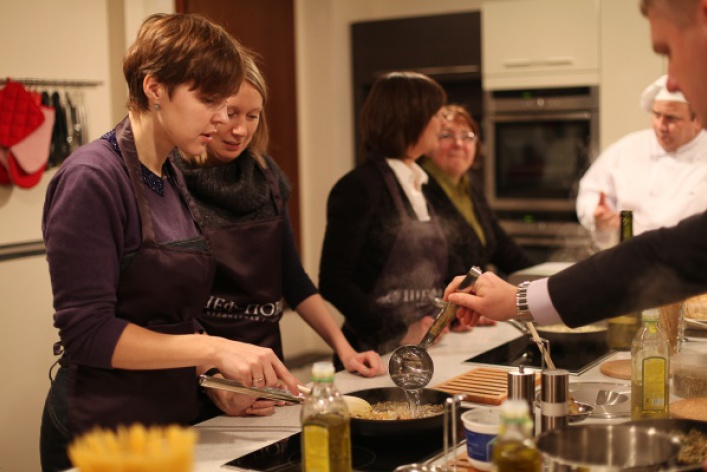 Открытие кулинарной студии «Шеф-повар»