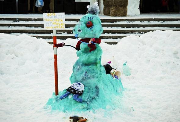 Арт-битва снеговиков - Фото №0