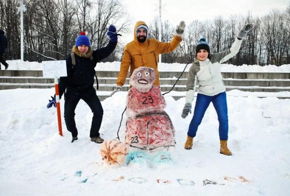 Арт-битва снеговиков - Фото №1