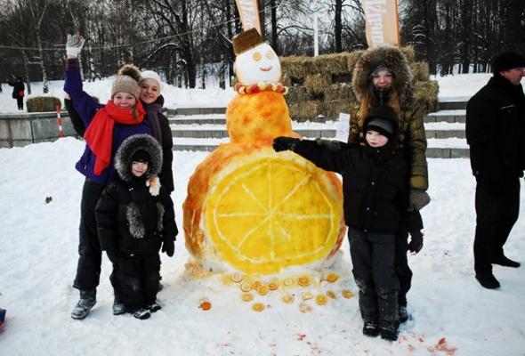 Арт-битва снеговиков - Фото №2