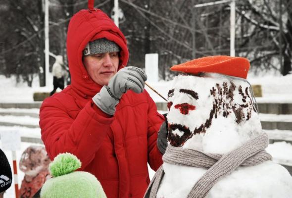 Арт-битва снеговиков - Фото №3
