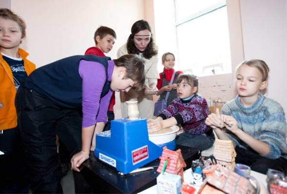Детский мастер-класс наоткрытии пространства «Ткачей» - Фото №0